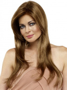 SmartFactory Long Blonde Straight European Human Hair Wavy Wig for Girls