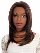 SmartFactory New Fashion Natural Middle Straight Wavy Hair Human Full Wigs for Women or Girls