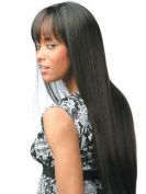 SmartFactory Long Black Natural Straight Synthetic Softness Hair Wig For Girls