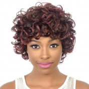SmartFactory Short Fashion Natural Kindly Curly Human Hair Wig For Women