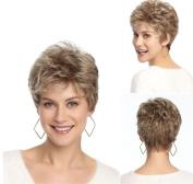 MXXYY Fashion Women 's Short Curly Wigs Heat Resistant Fibre
