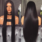 Carina Hair Natural Colour Straight Brazilian Human Hair Glueless Full Lace Front Wig