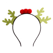 Bling bling Reindeer Series Christmas Headband Christmas Party Headband for Baby Girls-