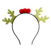 Bling bling Reindeer Series Christmas Headband Christmas Party Headband for Baby Girls-