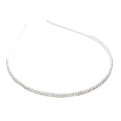 Rosemarie Collections Women's Crystal Rhinestone Sparkle Headband