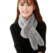 Datework Women Winter Warm Plush Scarf