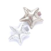 Girls Mettalic Shine Star Hair Bun Clip