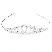 Mintbon Wedding Women Girls Rhinestone Headband Head Crown Queen Princess Jewellery
