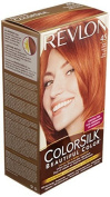Revlon ColorSilk Beautiful Colour Permanent Hair Colour 45 Bright Auburn 1 EA - Buy Packs and SAVE