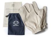 Raw Silk Garshana Gloves for Ayurvedic Dry Massage