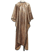 Leopard Pattern Salon Hairdressing Nonstick Hair Cape Haircut Cloth by Abcstore99