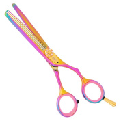 Washi Beauty - Gold Rainbow 35 Tooth Thinning & Blending Hair Shear / Scissor