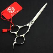 Purple Dragon 14cm Narrow Blade Bang Hair Cutting Scissors Salon Professional Hairdressing Shears