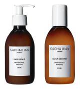 Sachajuan Hair Repair 250ml + Scalp Shampoo 250ml