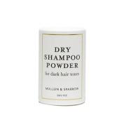 Mullein & Sparrow Dry Shampoo for Dark Hair - 30ml - Oil Absorbing, Organic, Travel Sized