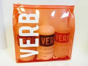 Verb Volume Shampoo, Conditioner & Volume Spray Bag Gift Set
