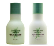 June Jacobs Green Tea and Cucumber Clarifying Shampoo & Conditioner Lot of 8 (4 of each) 50ml bottles. Total of 400ml by June Jacobs