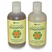 100% Plant-Based Shampoo & Conditioner Set by Omica Organics