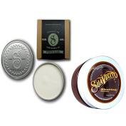 Bundle - 2 Items : Suavecito Premium Blends Matte Pomade, 120ml & Suavecito Pomade Shaving Creme, 240ml