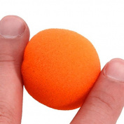 Banggood Cute 45mm Soft Sponge Ball for Classic Magic Trick for Making Surprise Orange