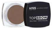 Kiss NY Pro Top Brow Cream Dark Brown