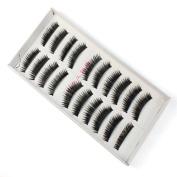 FTXJ 20xBlack False Eyelashes Make Up Thick Long Natral Soft Eyelash