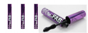 (Pack of 3) - VALUE PACK ! Hard Candy Flat to Fab Mascara, 435 Blackest Black