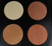 Glow Kit Makeup Palette 2 Face Bronzer & Highlighter 4 Colour - Top Quality Mineral Ingredients