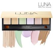 LUNA PRO Conceal Palette 9g10ml - 6 Colours Contour Face Cream Concealer Camouflage Makeup Pallet