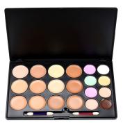 ROPALIA 20 Colours Concealer Cream Palette Makeup Contour Kit With Brush