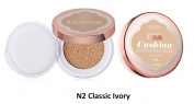 L'oreal True Match Lumi Cushion Buildable Luminous Foundation - N2 Classic Ivory
