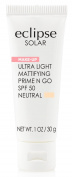 Eclipse Solar Ultra Light Mattifying Prime N Go SPF 50 Primer, Neutral, 30ml