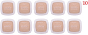 (Pack of 10) - L'Oreal Paris True Match Mineral Pressed Powder, W1-2 404 Light Ivory