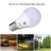 TOPCHANCES LED Sensor Bulbs 7W E27 Dusk to Dawn Smart LED Light Bulb Energy Save Automatic Sensor Ball Lamps