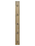 Wall Hanging Wooden Growth Chart Ruler for Boys & Girls To Measure Height of Kids, Nursery Wall Decor