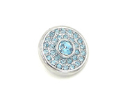 Deanna's Supply Shop Snap Charm 18mm antique silver Snap