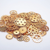 Lautechco 1 Pack Mix Alloy Mechanical Steampunk Cogs & Gears DIY Accessories Fashion DIY Decor Handmade Jewellery Accessories