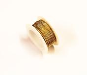 Brass Twisted Wire 20 Ga 3m Spool