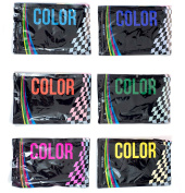 #1 BEST Holi Powder on Amazon, by Dream Colour - Certified & Safe Scented Colour Powder For All Your Event Needs - 6 Pack, 65g Each Blue, Yellow, Pink, Green, Purple & Orange
