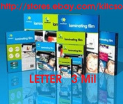Laminating Pouches Letter Size 3 Mil. 100 Pack 9 x 11.5