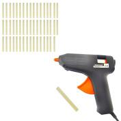 Glue Gun Trigger Electric 230V Very Hot Melt & Glue Sticks 50 PACK 11mm x 100mm