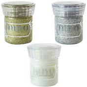 Nuvo Glimmer Paste - Golden Crystal, Silver Gem & Moonstone