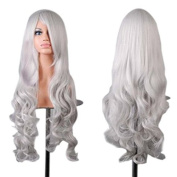 Simpleyourstyle Wigs 80cm / 32inch Curl Cosplay Wig For Women With Wig Cap