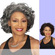 DARLENE (Foxy Silver) - Synthetic Lace Front Wig in 4