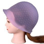 AMA(TM) Professional Reusable Hair Colouring Highlighting Dye Cap Hat and Hook Hair Salon