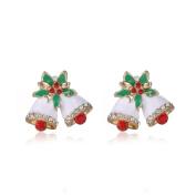 AMA(TM) Women Christmas Fashion Joker Snowman Gifts Animal Stud Earrings