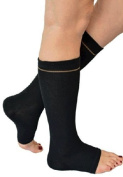 Medipaq Gel-Lined Sock - Relieve Achilles Tendon And Heel Pain Black