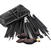 Rosabeauty 32 Professional Make up Brushes Set Cosmetic Brushes Makeup Kit For Eye Shadow, Blush, Concealer With Case