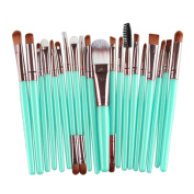 Kwok Brush,20 pcs Makeup Brush Set tools Make-up Toiletry Kit Wool Make Up Brush Set