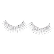 New Thin 10 Pairs Black Natural Soft Handmade False Eyelashes False Lash Extension